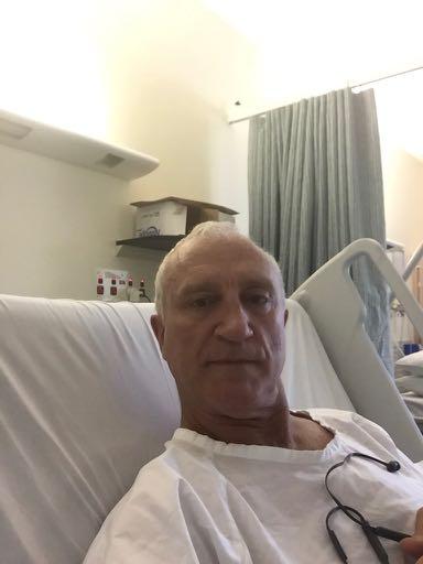 Sir Alex @ Hospital
